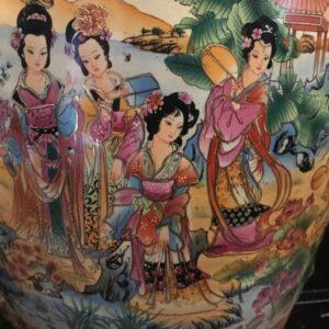 "oriental 40"" vase"