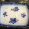 "Ceramic Tray Flo Blue ""Apples"""