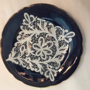Bottaum Venezio desert plates