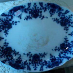 Flo Blue Vintage Platter