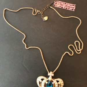 Crown Necklace with 28 inch chain