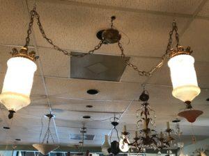 Vintage Mid Century Light