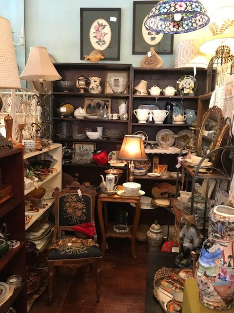 Booth 5 is full of Vintage and Antiques items, but as the store says you can find anything from Vintage to Modern anywhere in the store