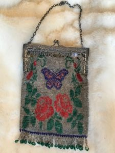 Antique Flapper beaded purse