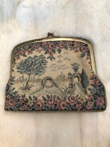 Vintage Belt Pouch/ Purse